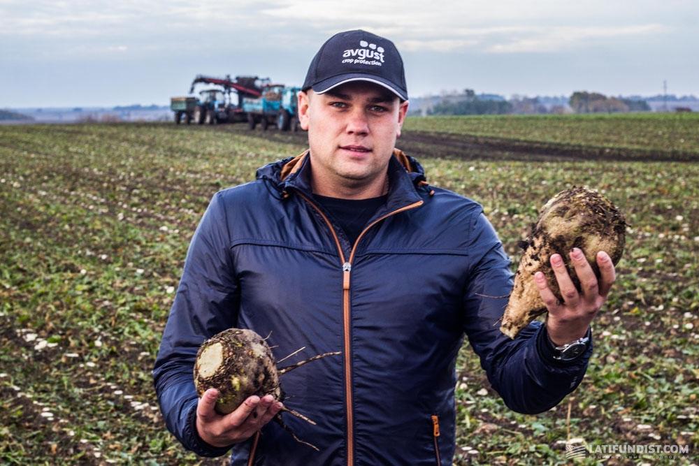 Александр Корчагин, региональный представитель «Август-Украина» в Полтавской области